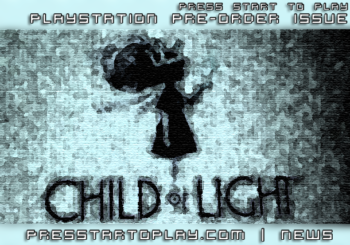 Child of Light Playstation 3 Pre-Order Issue