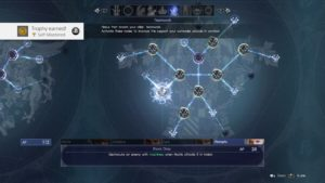 The ascension grid is similar to Final Fantasy X's Sphere grid.